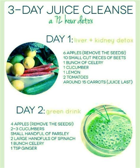 72 Hour Detox by 3 Day Juice Cleanses 72 Hour Detox Loses 7lbs Trusper