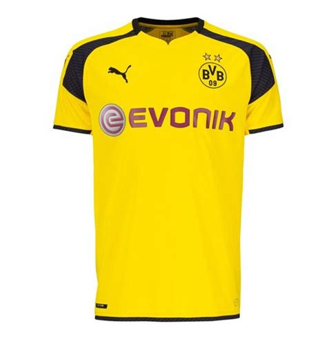 Jersey Dortmund Ucl 1416 2016 2017 borussia dortmund ucl home shirt for only 163 33 78 at merchandisingplaza uk
