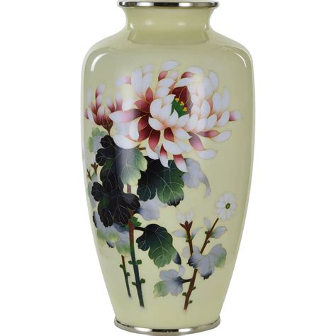 Vintage Vase by Vintage Japanese Ando Cloisenne Peony Vase From Tolw On