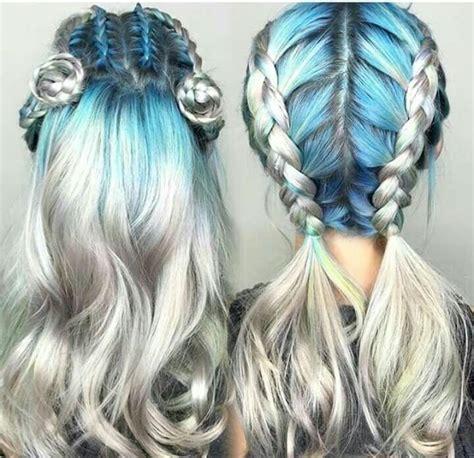 mermaid colored hair 481 best mermaid hair images on hair color