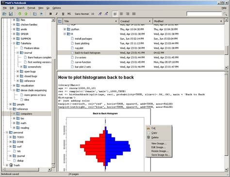 notes software keepnote free notes taking software to easily organize notes