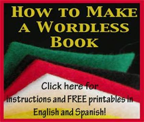 printable wordless picture books how to make a wordless book with free printable