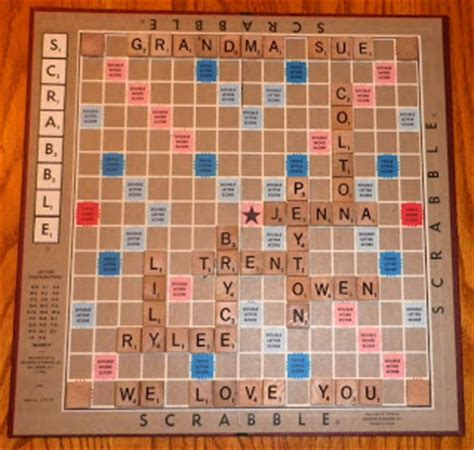 get better at scrabble cards by cg framed scrabble board