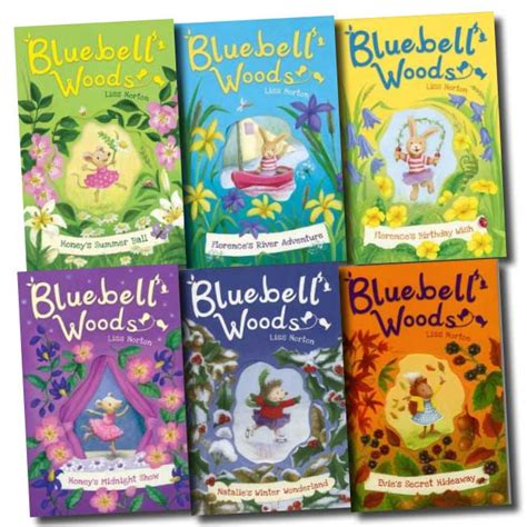 buttons and grace volume 6 books bluebell woods collection liss norton 6 books set pack vol