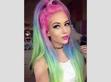 rainbow-tips-hair | Tumblr Rainbow Hair Tumblr