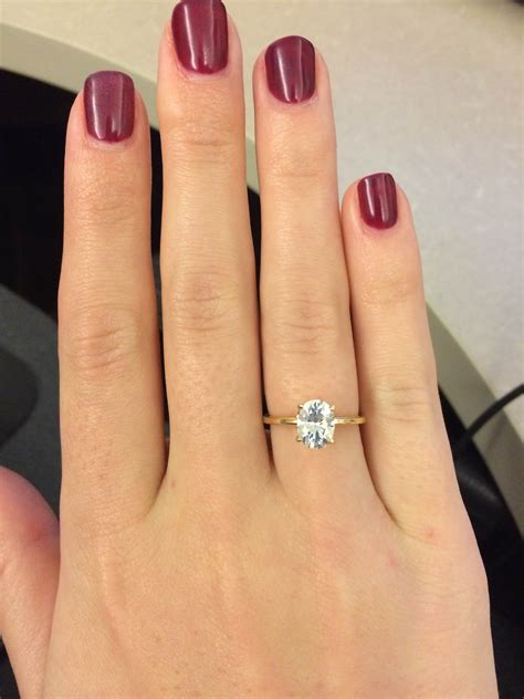 1 ct oval ring on 1 carat oval solitaire ring ring