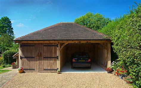 2 bay garage two bay cart barns brookwood oak barns