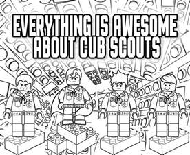 scout coloring pages akela s council cub scout leader everything is