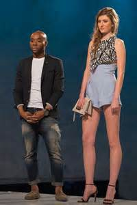 Look jefferson and his model on the runway image lifetime
