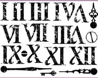 roman numeral fonts tattoo google search tattoo roman numeral font google search fonts pinterest