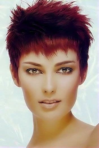 exciting shorter hair syles for thick hair short red hair style image 17 short hair cuts