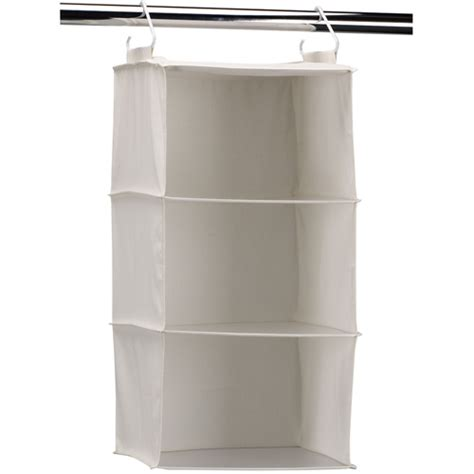 3 shelf hanging closet organizer in hanging closet shelves