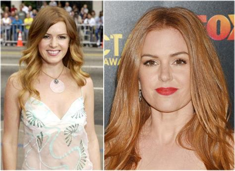 isla fisher hair color isla fisher s height weight she is not worried about