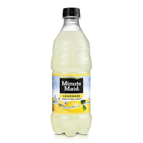 minute light lemonade drink minute lemonade