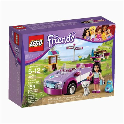 Lego Friends Auto my lego style lego friends emma s sports car 41013