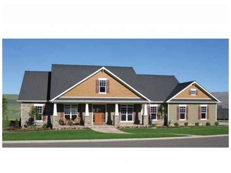 5 Bedroom Craftsman House Plans by House Plans Ranch Style Home Rectangular House Plans Ranch