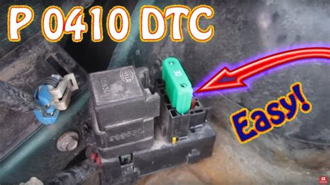 check engine light code p secondary air injection