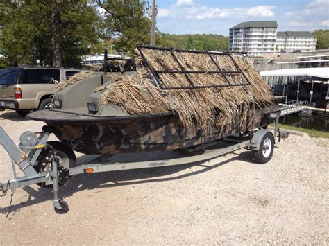 duck hunting boats for sale used 2000 outlaw duck boat four seater transaction price