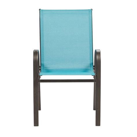 Home Decorators Collection Peacock Patio Sling Stack Chair Stack Sling Patio Chair
