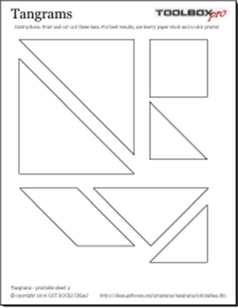 printable tangram activity sheets ideas tangrams program resources printable resources