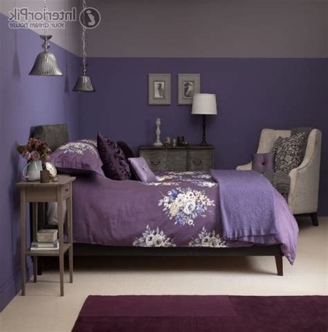 northern lights bedroom paint scheme фиолетовая спальня фото iqinterior