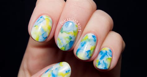 Easiest Nail by The Easiest Nail Sharpie Marbled Gel Nails