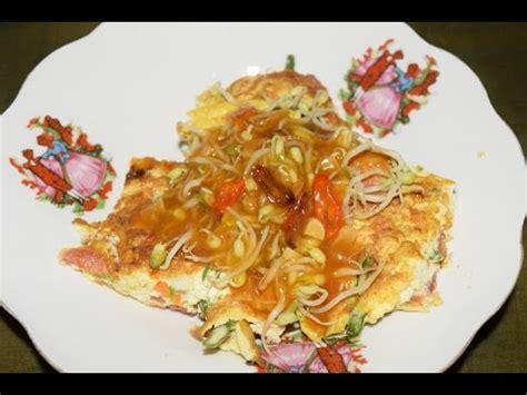Membuat Omelet Tahu | cara membuat omelette tahu aneka olahan telur ayam youtube