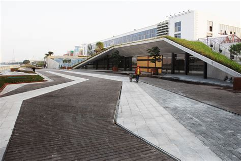 Archdaily Landscape Pearl River Factory Landscape Atelier Cns Archdaily