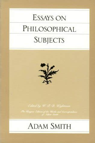 Adam Smith Essay by Adam Smith Research Paper