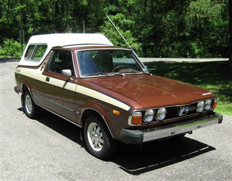 brat car kidney anyone flawless 1980 subaru brat japanese