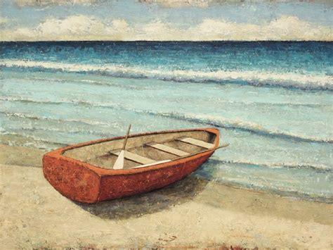 row boat canvas art row boat 7 art at the beach pinterest artwork and artist