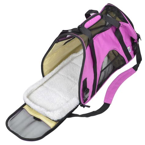 carrier tote pet carrier tote bag small cat soft sided comfort travel friendly ebay