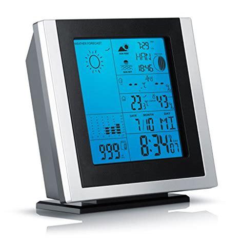 led displaybeleuchtung brandson funkwetterstation inkl hygrometer barometer