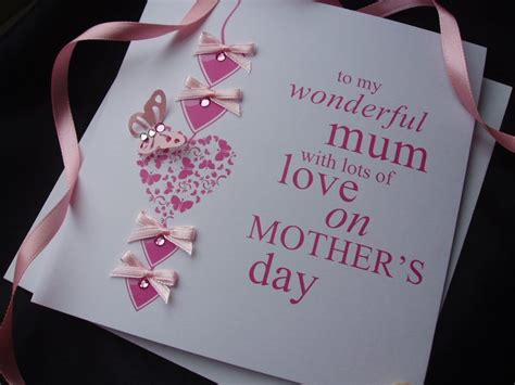 Images Of Handmade Mothers Day Cards - exclusive luxury handcrafted mothers day cards handmade