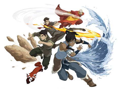 legend of korra the korra the next airbender animation magazine