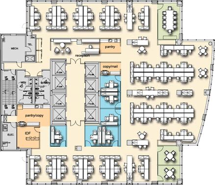 Office Tower Floor Plan by 90 10 Interior Office Tower Floors 7 15 Availabilities