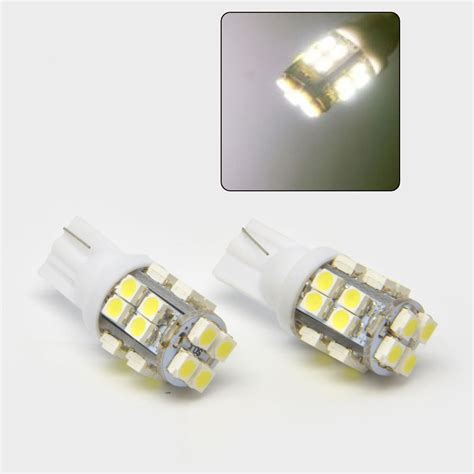 Jual Led Smd Bright diy high quality 2pcs t10 20 led smd 1210 bright xenon white car smd light 194 2825 w5w