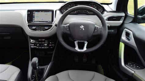 pershow car peugeot 208 hatchback interior dashboard satnav carbuyer