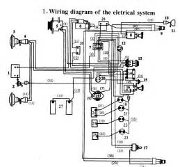 ford 545 tractor wiring diagram