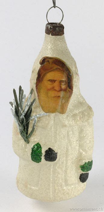 dept 56 mercury glass ornament white santa holding tree 83 best images about vintage santa claus ornaments on world mercury