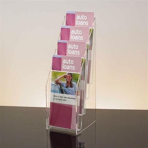 Acrylic Display Brosur aditya acrylic jakarta tempat penyimpanan brosur dari acrylic