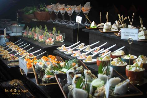 new year buffet make special events sparkle at buddha bar manila