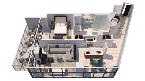80 Square Meters hotel suites in miami w south beach