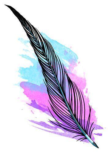 watercolor tattoo quill 1000 ideas about feather pen on