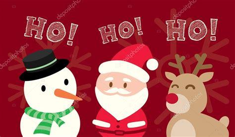 imagenes de santa claus y sus renos santa claus mu 241 eco de nieve renos navidad dibujos animados