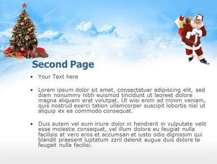 powerpoint layout weihnachten christmas xmas free powerpoint template backgrounds