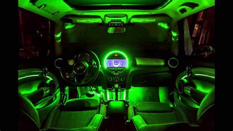 mini cooper light mini f56 interior ambient lighting