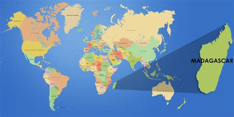 where is madagascar on a world map information about madagascar tour in madagascar