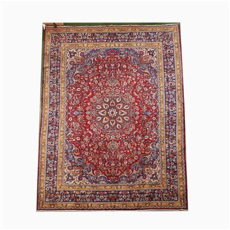 Handmade Wool Rug - handmade wool tabriz rug 9 7x12 7
