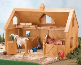 Wooden Toy Barn Kits Deluxe Wood Barn With Cupola